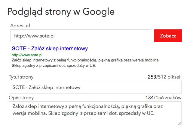c11237ef Strony i sklepy internetowe - tworzenie stron www Kraków Katowice ...