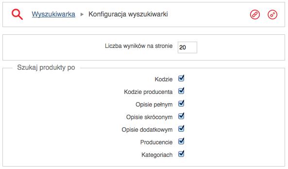 System wyszukiwania w sklepie internetowym