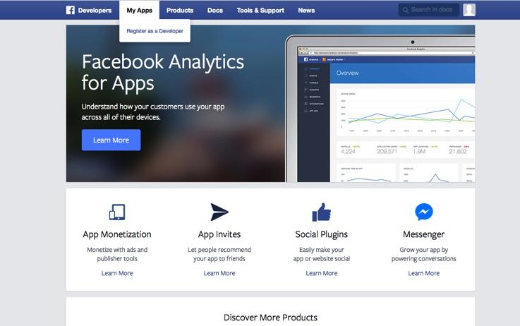 Rejestracja dewelopera w systemie FB