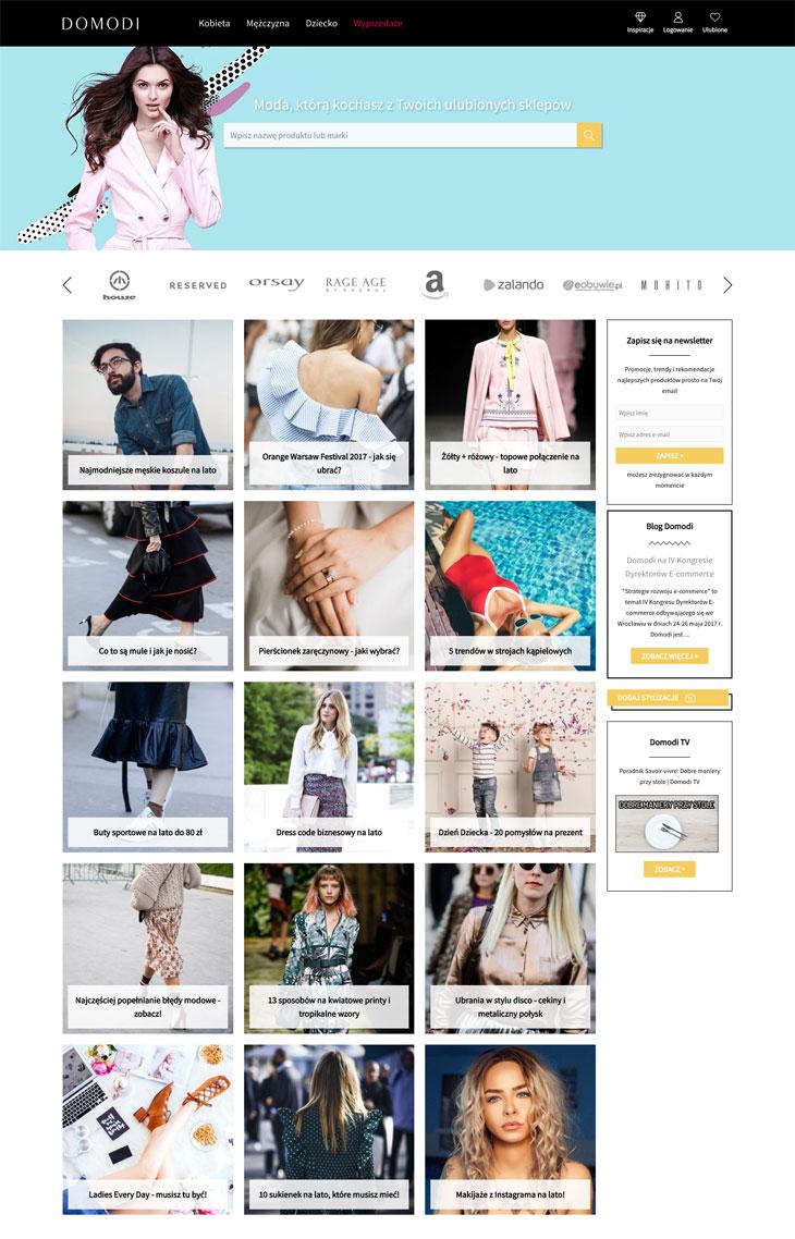 Integracja sklepu internetowego z Domodi