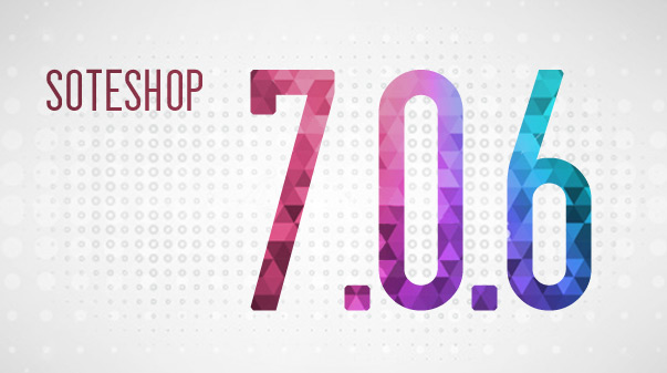 Sklep internetowy SOTESHOP wersja 7.0.6