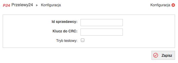 Konfiguracja Przelewy24 w sklepie internetowym SOTESHOP