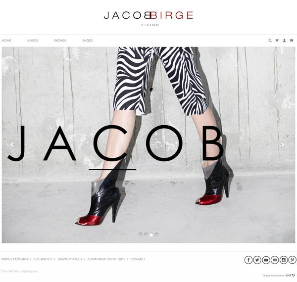 Sklep internetowy Jacob Birge działa na oprogramowaniu SOTESHOP
