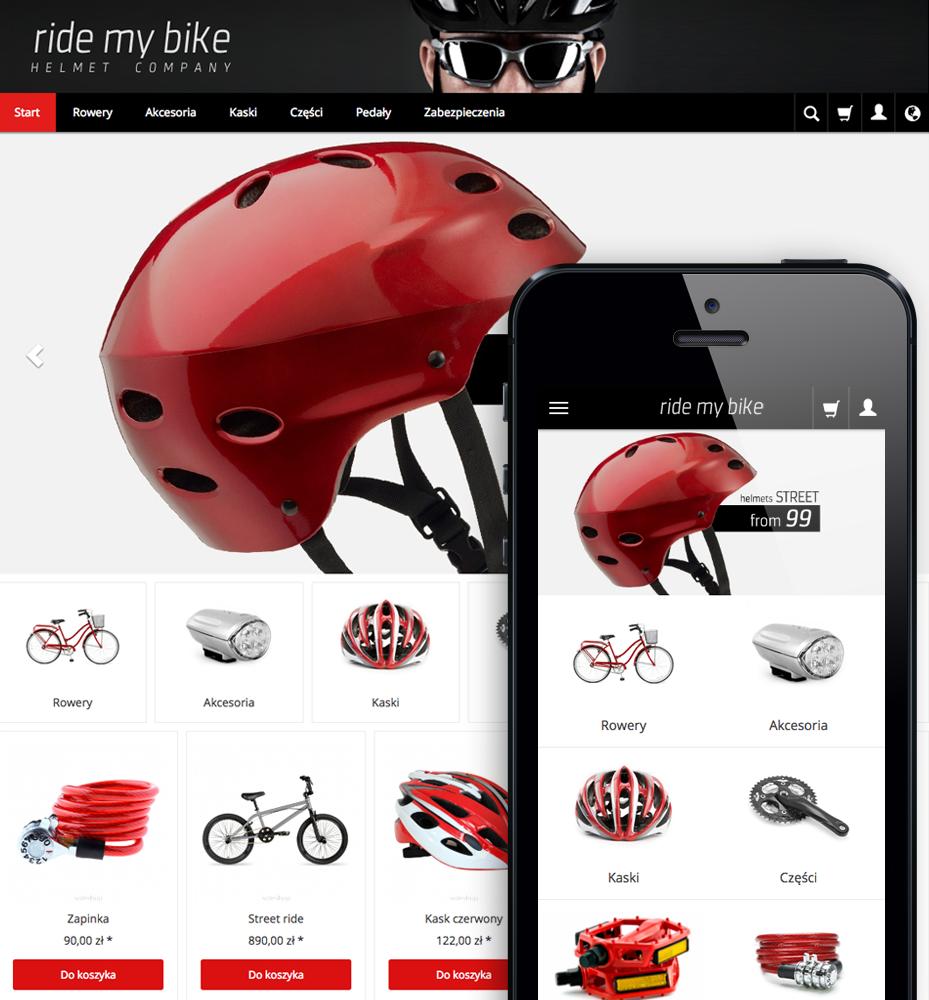 Temat graficzny ModernoRWD w sklepie internetowym SOTESHOP