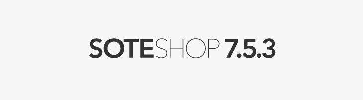 Sklep internetowy SOTESHOP 7.5.3