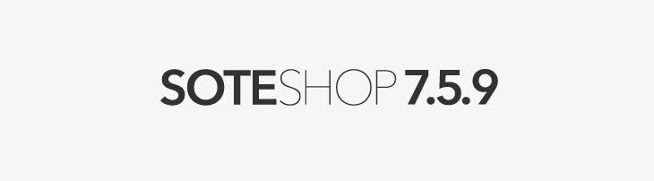 Sklep internetowy SOTESHOP 7.5.9